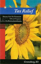 Cover of the tax relief brochure
